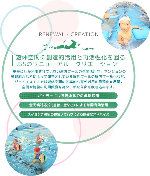 遊休空間の創造的活用と再活性化を図るJSSのリニューアル・クリエーション