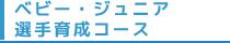 ベビー・キッズ・選手育成コース
