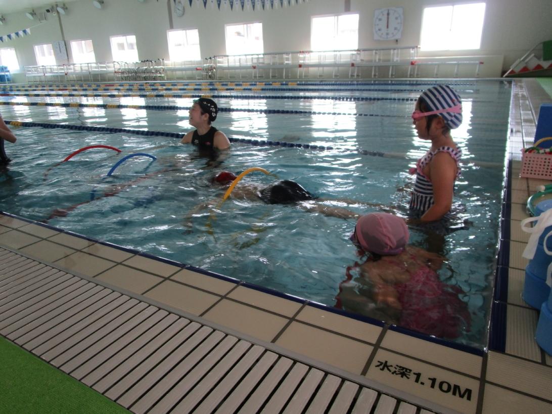 泳げない子水泳教室 画像