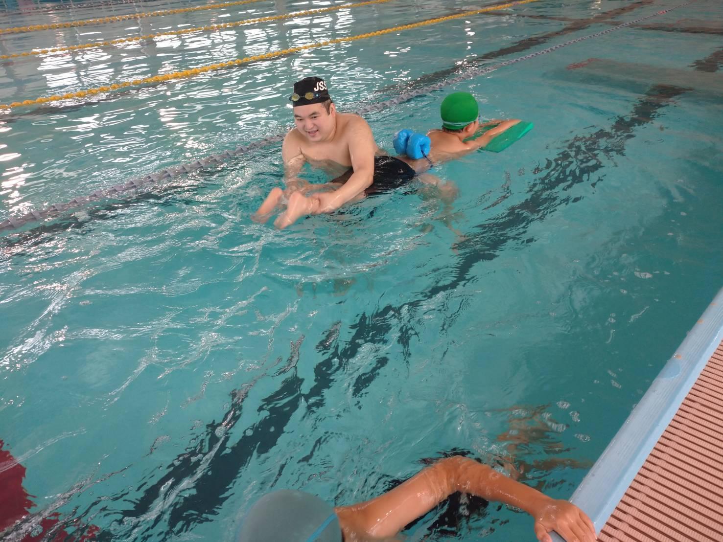 夏の短期水泳教室 全日程が終わりました! 画像