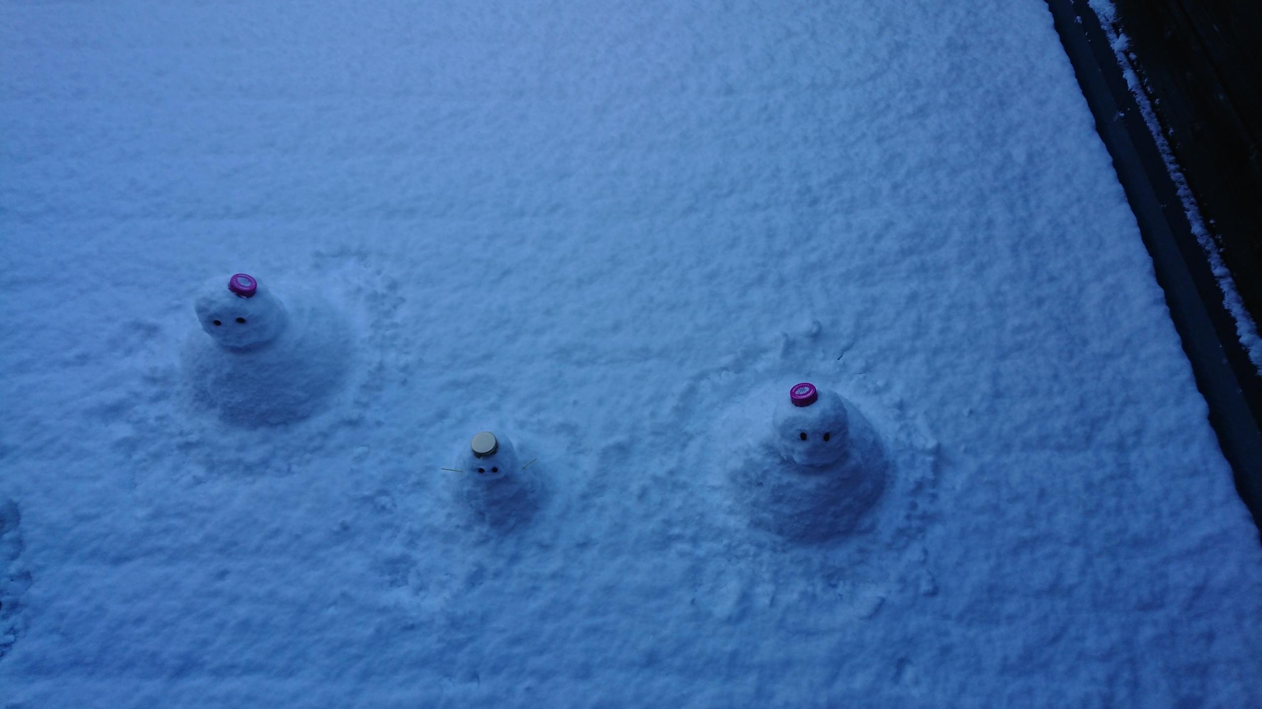 ⛄雪だるま⛄ 画像