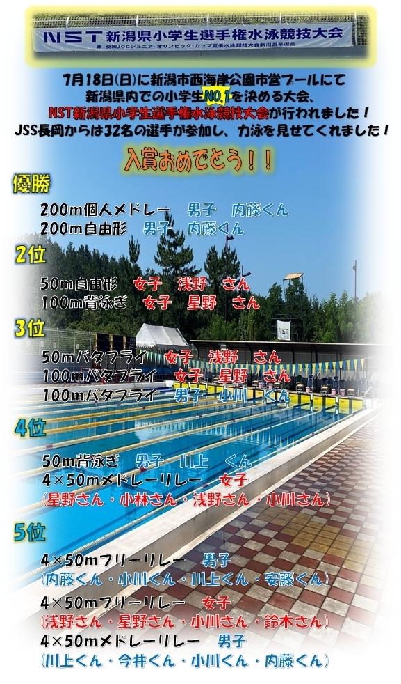 ☆NST水泳競技大会☆ 画像