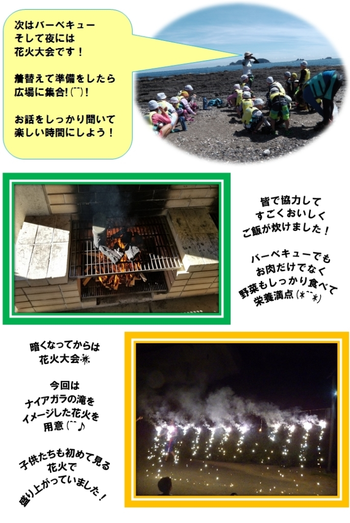 キャンプ1日目(2)