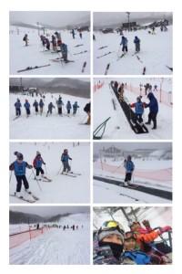 スキーハイク